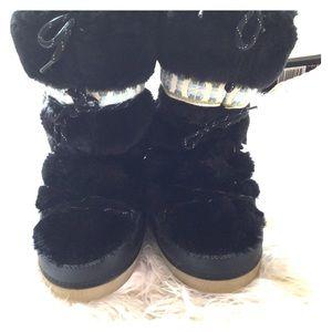 Marc Jacobs Faux Fur Boots Size M